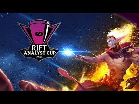 RIFT ANALYST CUP con ElOjoNinja, CarritosKami, ImDiamond & Electrokidi