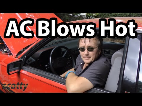 How to Fix Car AC that Blows Hot Air (AC Compressor)