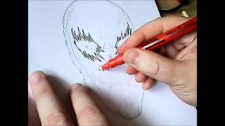 How To Draw Ghost Mask For Halloween (10 of 365)