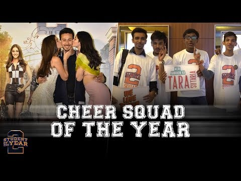 Student Of The Year 2 | Cheer Squad Of The Year | Trailer Launch | Tiger, Tara, Ananya