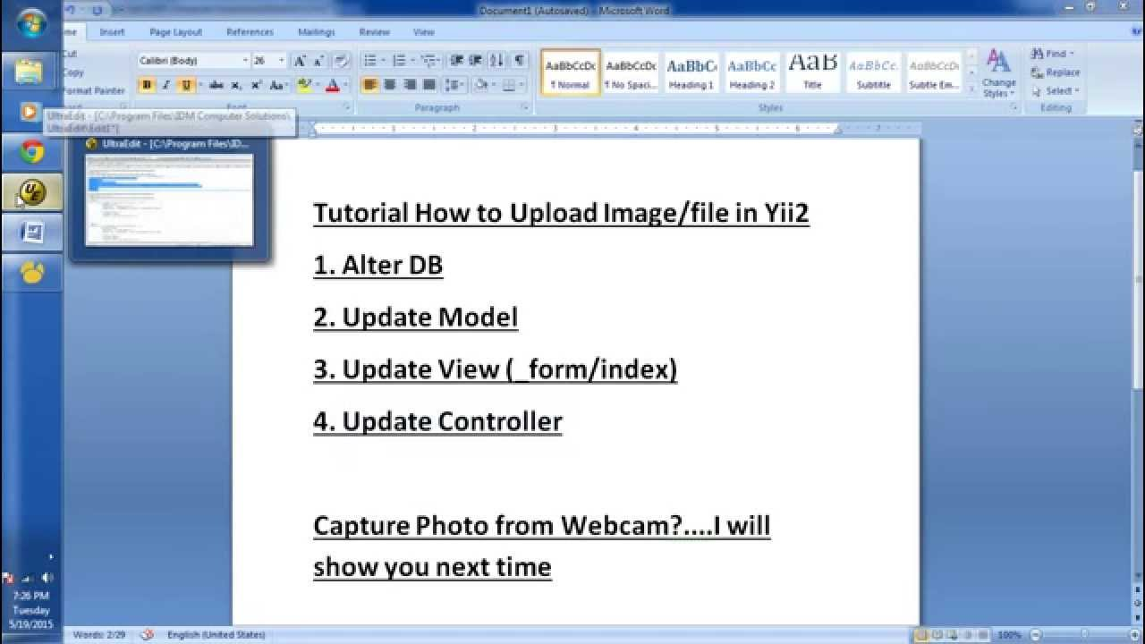 Tutorial How to Upload File or Image in Yii2