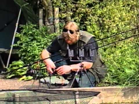 Carpfishing With Des Taylor. Des Breaking Rods.