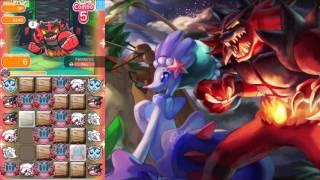 Pokémon Shuffle - Incineroar (test) [Comptetitive Stage] thumbnail