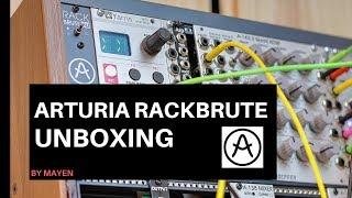 Arturia Rackbrute Eurorack Case Unboxing