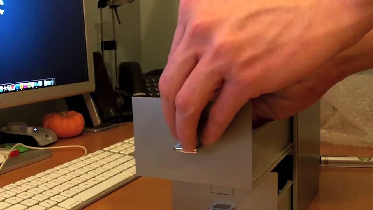 Unboxing: Miniature Filing Cabinet