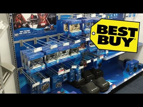Looking At PS4 ACCESSORIES (BEST BUY)
