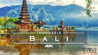 Bali, Indonesia 🇲🇨 - by drone [4K] remastered