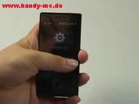 HTC Touch Diamond Bedienung