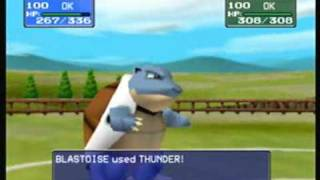 Nintendo 64: Pokemon Stadium, Stock Pokemon vs. Genetically Modified Super Pokemon