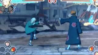 Naruto Ultimate Ninja Storm 2   Tsunade VS Pain