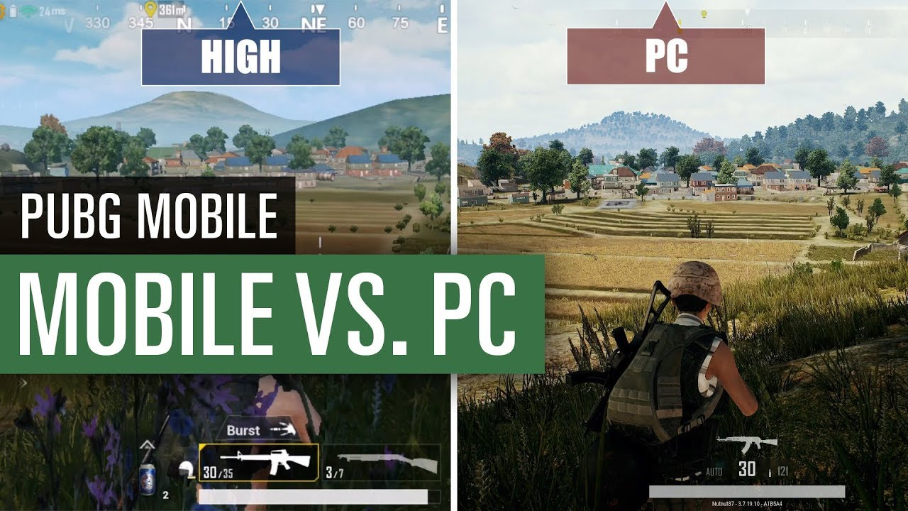 Pubg Mobile Grafik Minimum Vs Medium Vs Maximum Vs Pc Youtube