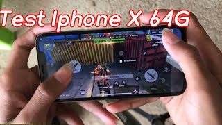 Test Iphone X 64G / Rules Of Survival