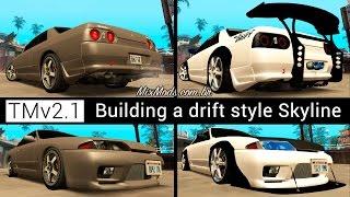 [GTA] Tuning Mod: Building a drift style Skyline