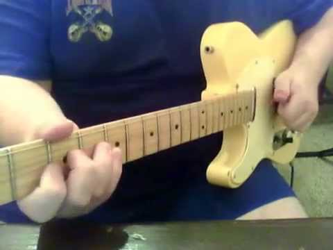 Fender Mexican Telecaster out of phase 2 pickup 5 way switch - YouTube