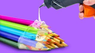 41 GLUE GUN HACKS YOU HAVE TO TRY