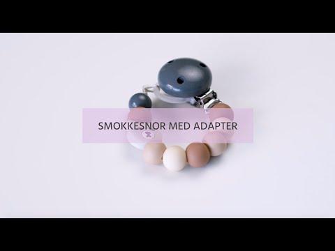 Smokkesnor med adapter | Minlillehobby.no