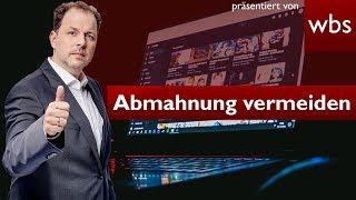 Recht für YouTuber - So vermeidet ihr Abmahnungen | Rechtsanwalt Christian Solmecke