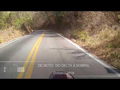 Sobral - CE - De moto do Delta (Meruoca), à Sobral