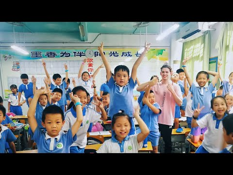 Teaching English in Shenzhen - A Day in the Life 2018