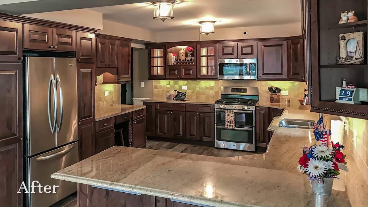 Johnsburg Kitchen Remodel Klm Kitchens Baths Floors Youtube