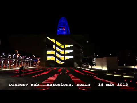 Disseny Hub Barcelona by night HD