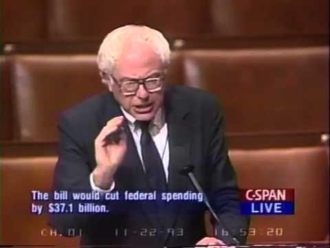 Bernie Sanders: Buying Congress (11/22/1993)