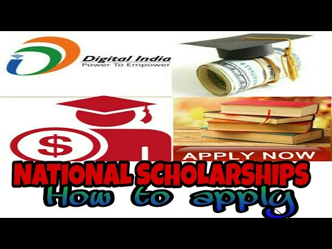 National Scholarship Portal.How to apply ? Helpful for student.. Govt of india...