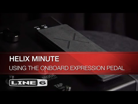 Helix Minute: Using the Onboard Expression Pedal | Line 6