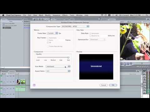 How to Export Standard Definition Video for Broadcast TV using Final Cut Pro