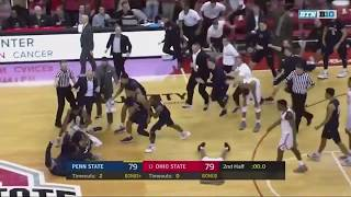 Penn State Defeats No. 13 Ohio State with Buzzer-Beating Three-Pointer
