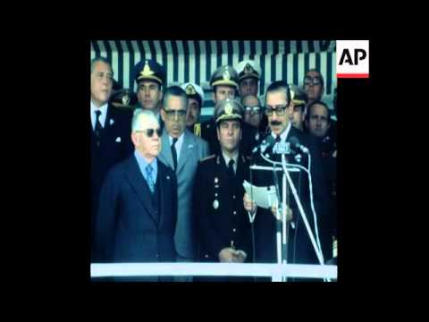 SYND 24 6 79 PRESIDENTS OF URUGUAY AND ARGENTINA OPEN SALTO GRANDE DAM