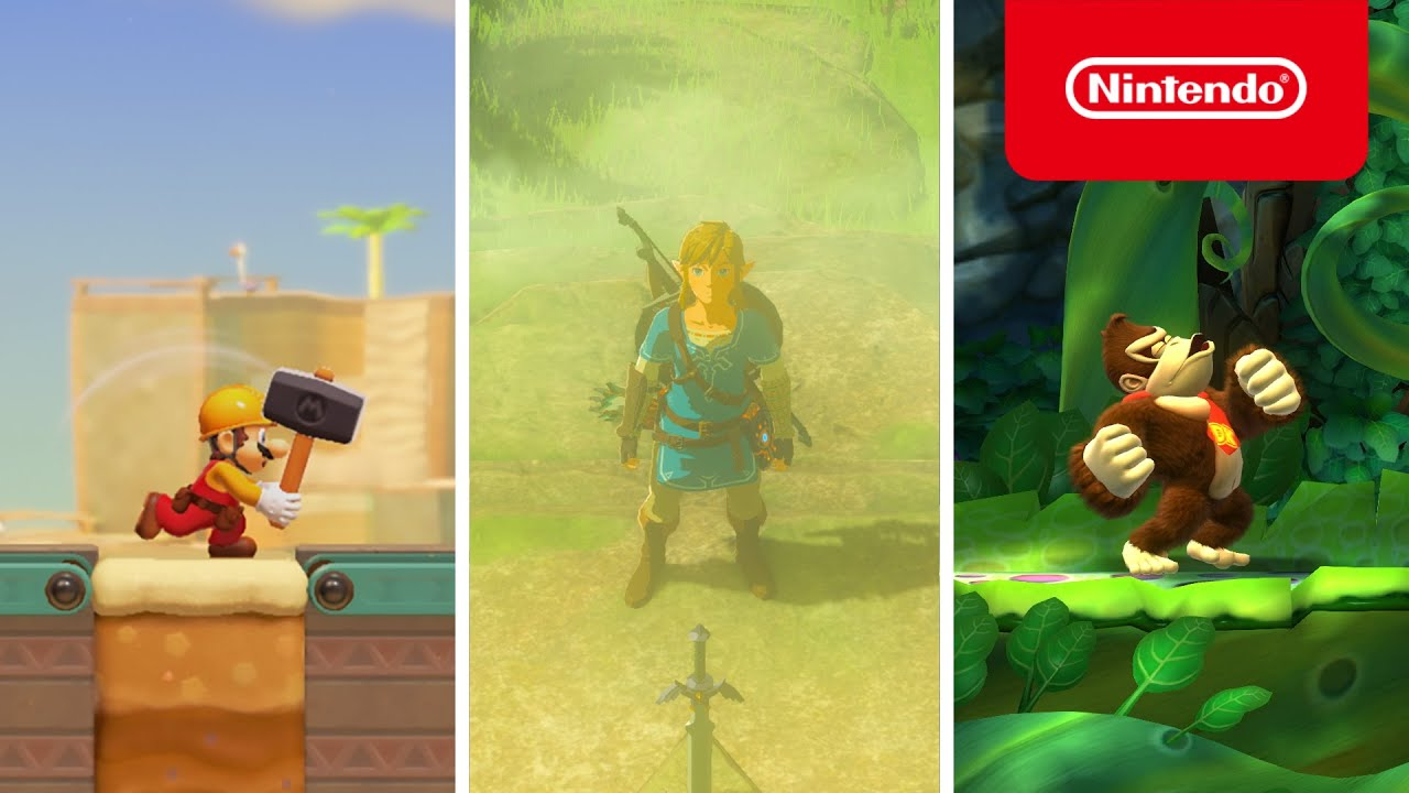 Adventures with Familiar Faces Await on Nintendo Switch!
