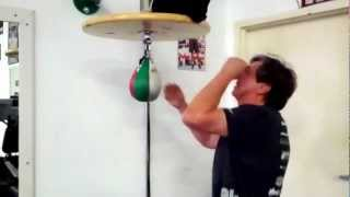 Using the Speed Bag At Relentless Boxing