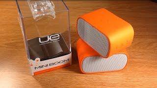Review: Orange Ue Mini Boom Bluetooth Speakers (double Up)