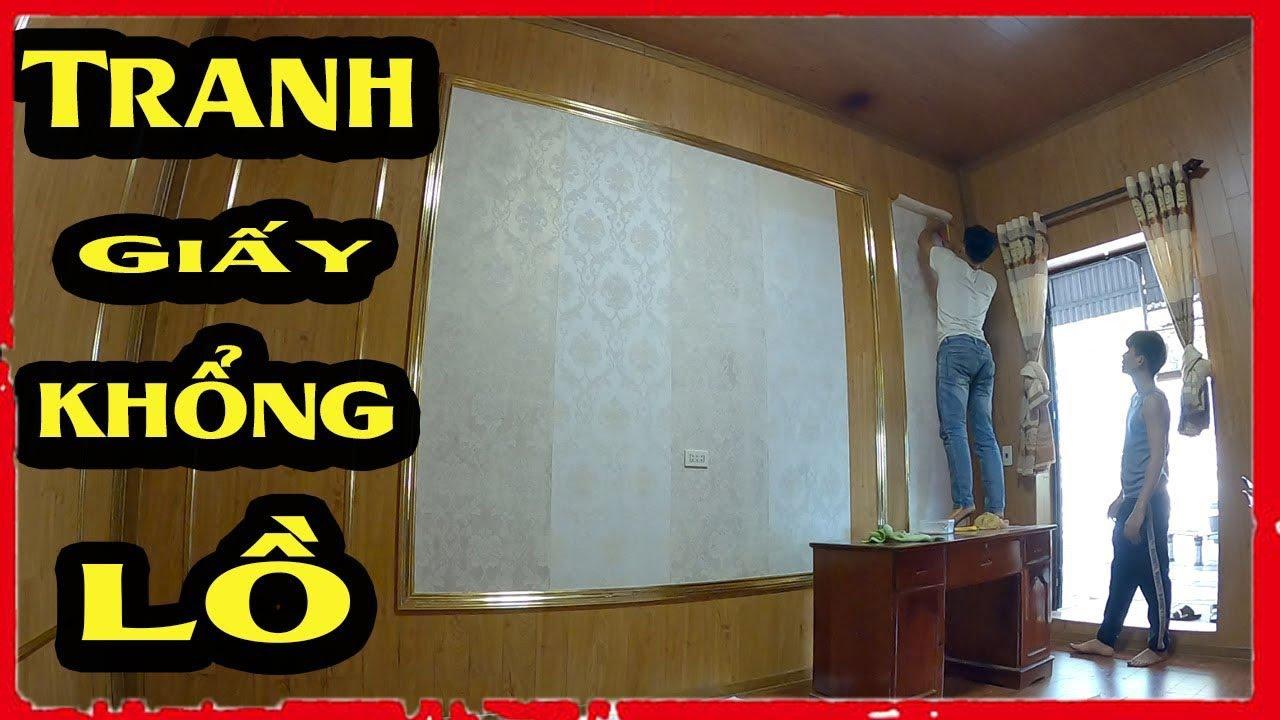 NVT - Làm Bức Tranh Siêu To Khổng Lồ Bằng Giấy Sẽ NTN | Painting With Giant Paper
