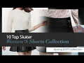10 Top Skater Women'S Shorts Collection Spring 2017 Collection