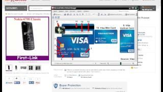 Урок 4.Как оплатить заказ на aliexpress картами Visa или MasterCard часть 1(, 2013-11-22T09:16:08.000Z)