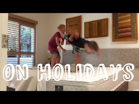 WWE Moves on Holidays! On a Mattress