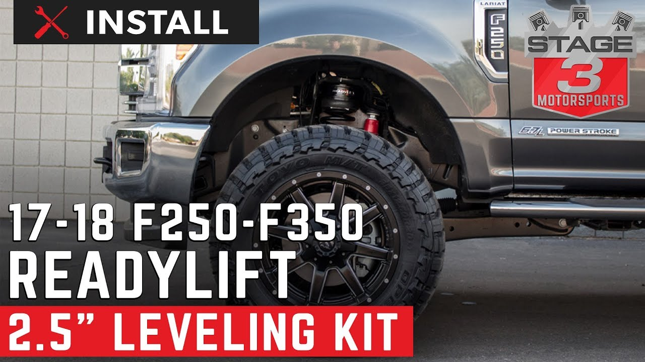 2017 F250 Amp F350 Readylift 2 5 Inch Front Leveling Kit