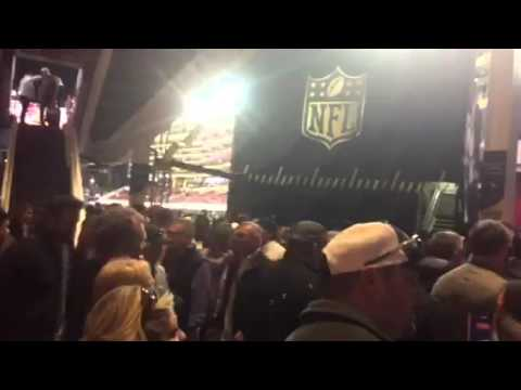 Crowd Of Fans Leaving Super Bowl 50 #SB50