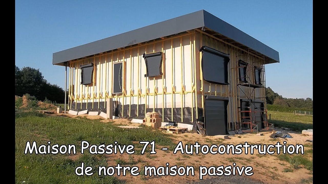 maison passive 71 autoconstruction de notre maison passive youtube. Black Bedroom Furniture Sets. Home Design Ideas