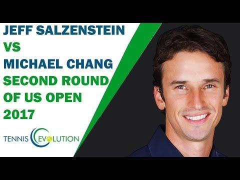 Jeff Salzenstein vs  Michael Chang  Second Round Of US Open 1997