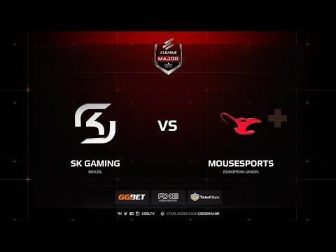 SK vs mousesports, mirage, ELEAGUE Major Boston 2018