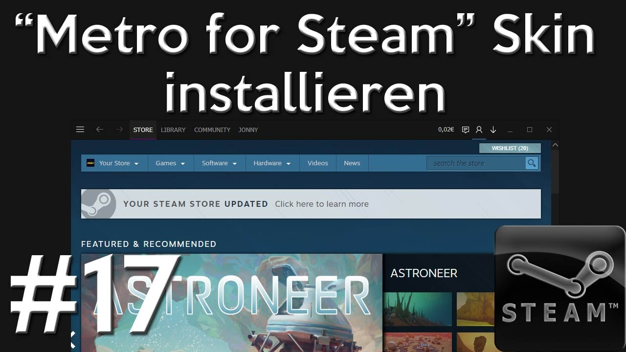 How to change your steam skin for free 2018 tutorial youtube.