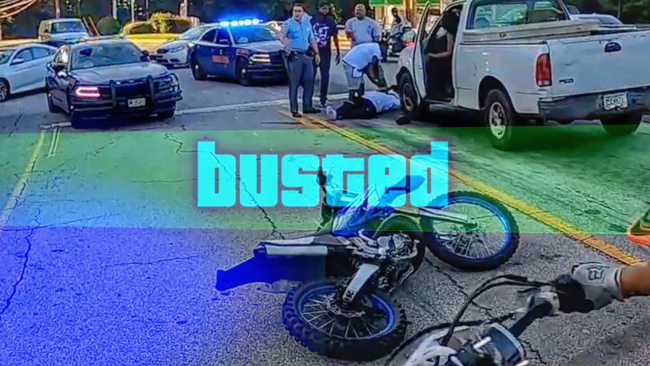 BIKER DOWN & OUT!!! COOL AND ANGRY COPS VS BIKERS 2020
