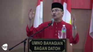 Majlis Perasmian Penutup Mesyuarat Perwakilan UMNO Bahagian Bagan Datoh - 6 Ogos 2016