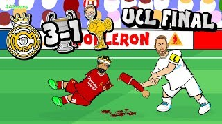 🏆RAMOS ATTACKS SALAH!🏆 Bale goal! Real Madrid vs Liverpool Champions League Final 2018! Highlights