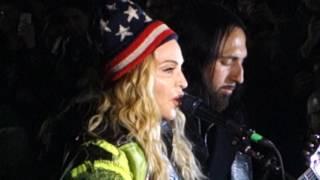 Madonna - Washington Square Park for Hillary Clinton Pt 1