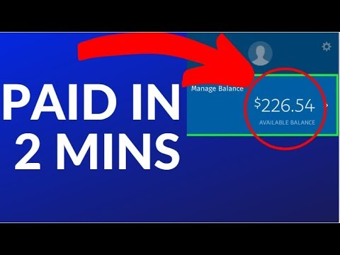 Earn FREE PayPal Money Fast in 2 Mins NOW! (2019)