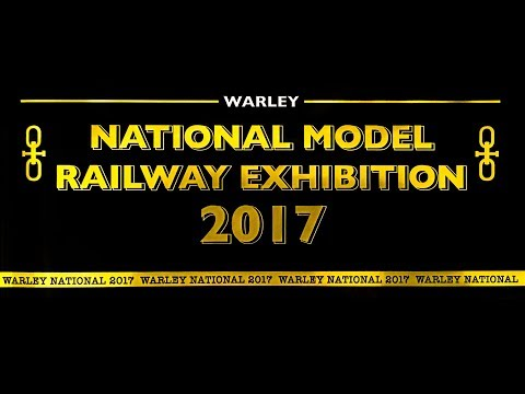 Warley Model Railway Show 2017 (Long Version)